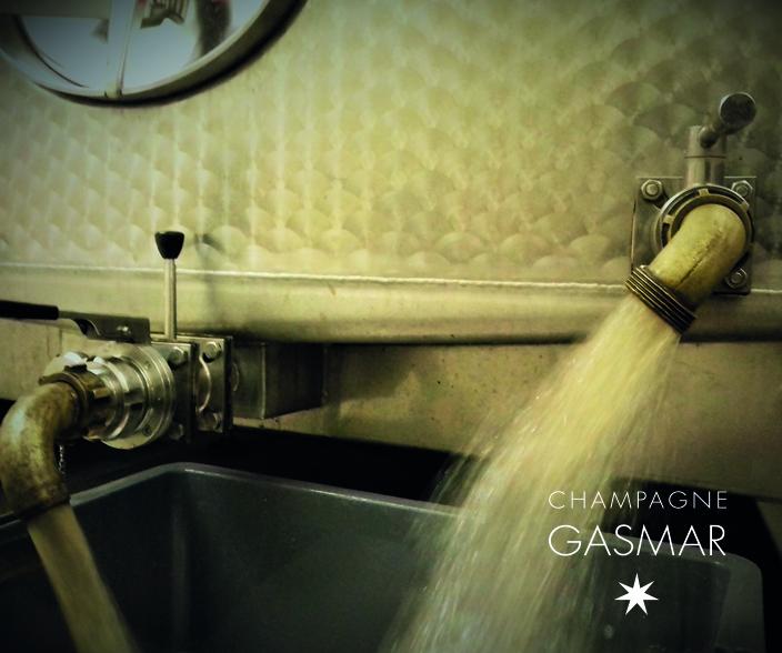 Soutirage vieilles vingnes champagne Gasmar Troissy