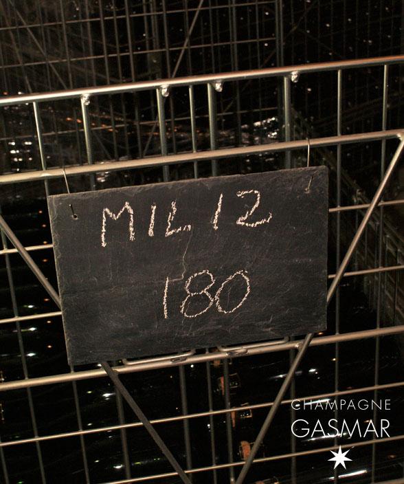 dernières bouteilles du brut millésime 2012 champagne GASMAR