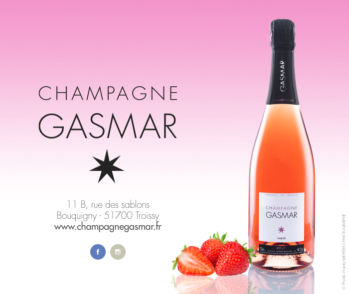 Le mariage champagne rosée et fraises pour la St Valentin